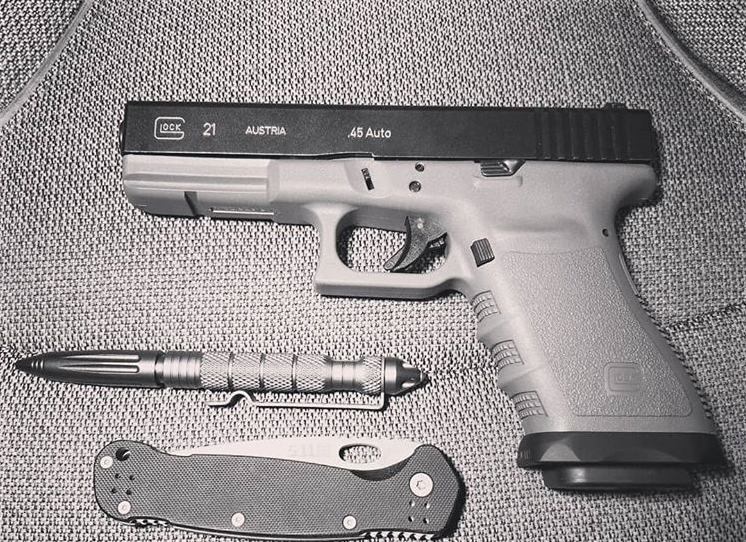 The Suarez International Glock 21 Magwell! - Tactical Considerations